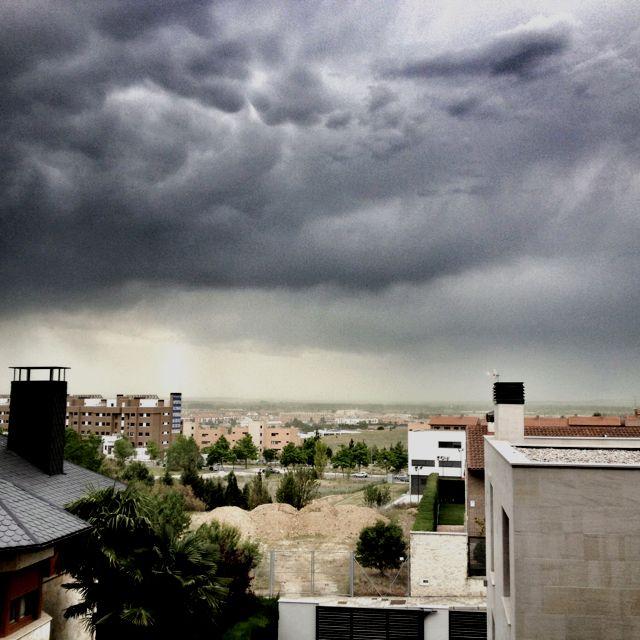 Tormenta en #Valladolid