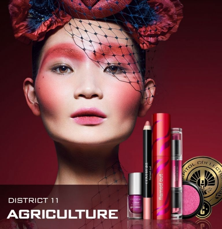 Covergirl Capitol Collection Glosstinis For Catching: Hunger Games Cover Girl Collection District 11 Agriculture