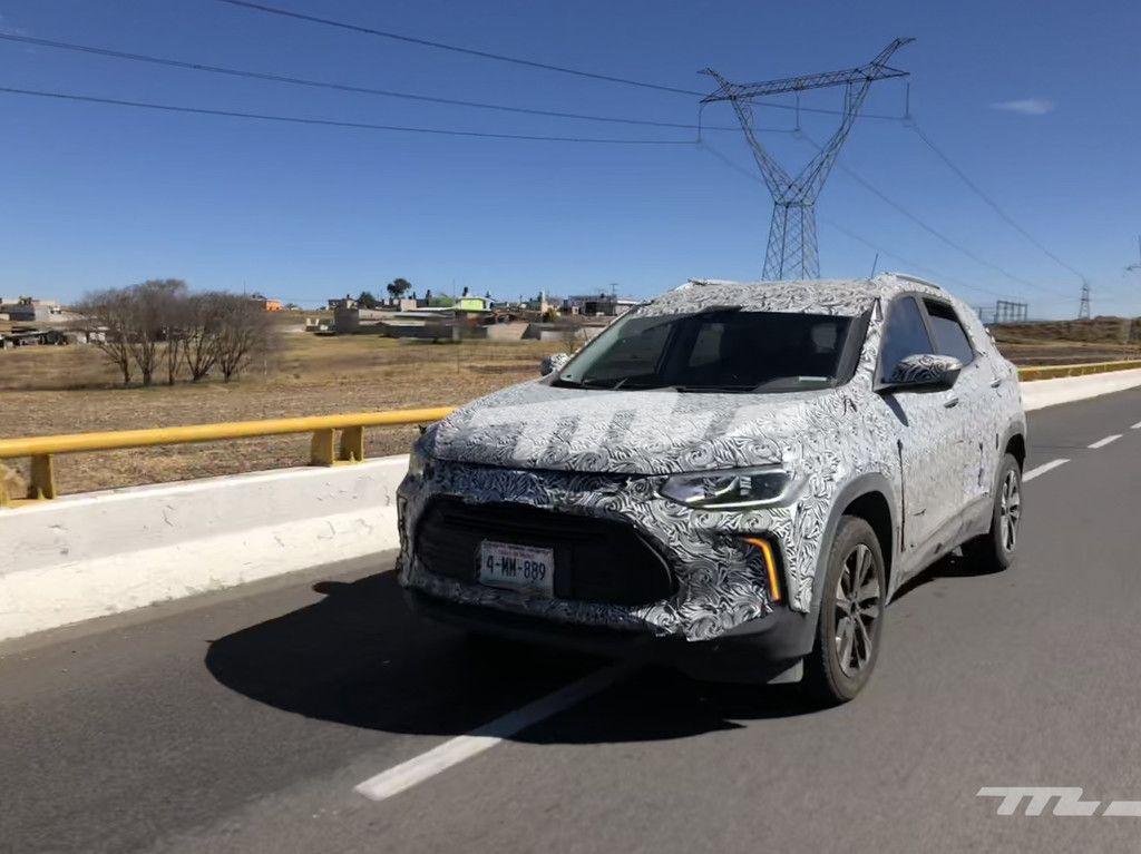 Espiado El Chevrolet Trax 2021 Tracker Ya Rueda En Mexico