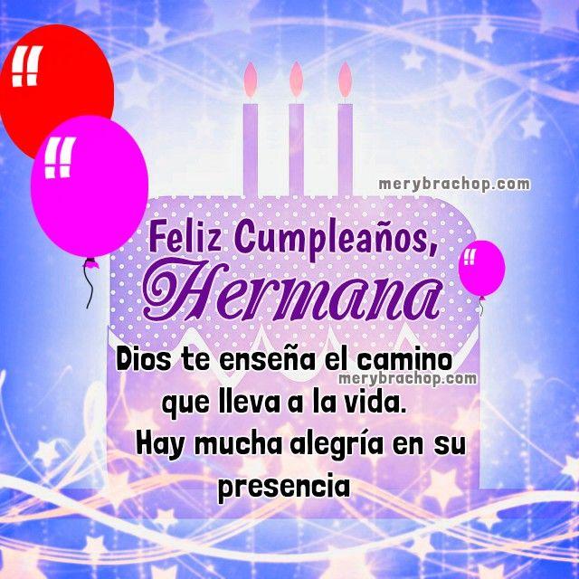 Imagen Cumpleaños Hermana Cristiana Imágenes De Cumpleaños