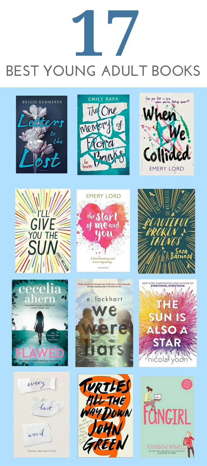 17 Best Ya Books Teen Reads In 2018 Pinterest Books Books To