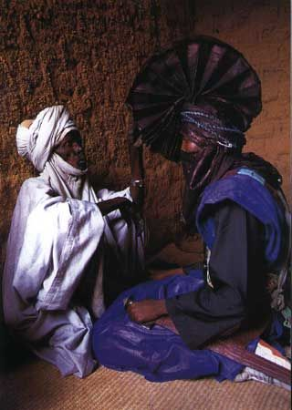 Bianou, a festival of Muslim Africa is celebrated in the ancient Tuareg town of Agadez, at the southern edge of the Sahara desert in Niger.