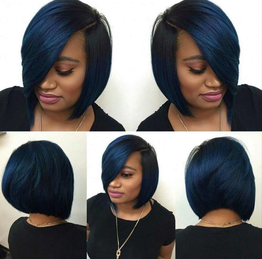 Bob Hairstyles With Weave Unique Pindeanitra Sansoni Walker On Hair And Beauty  Pinterest  Hair