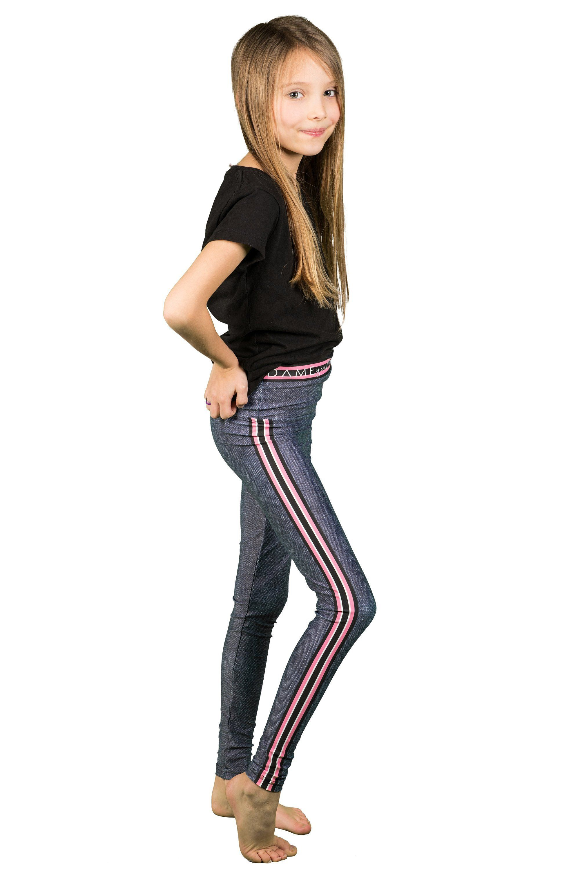 d56c4a4cabd22 Brandi Kids Legging, Printed Denim Pink Stripe Baby Tights, Tuxedo Stripes  Jegging Girls Leggings by hotdameclothing on Etsy