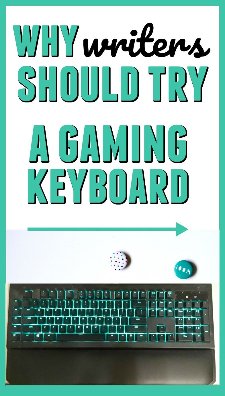 The Best Keyboard for Writers Writer, Writing a book