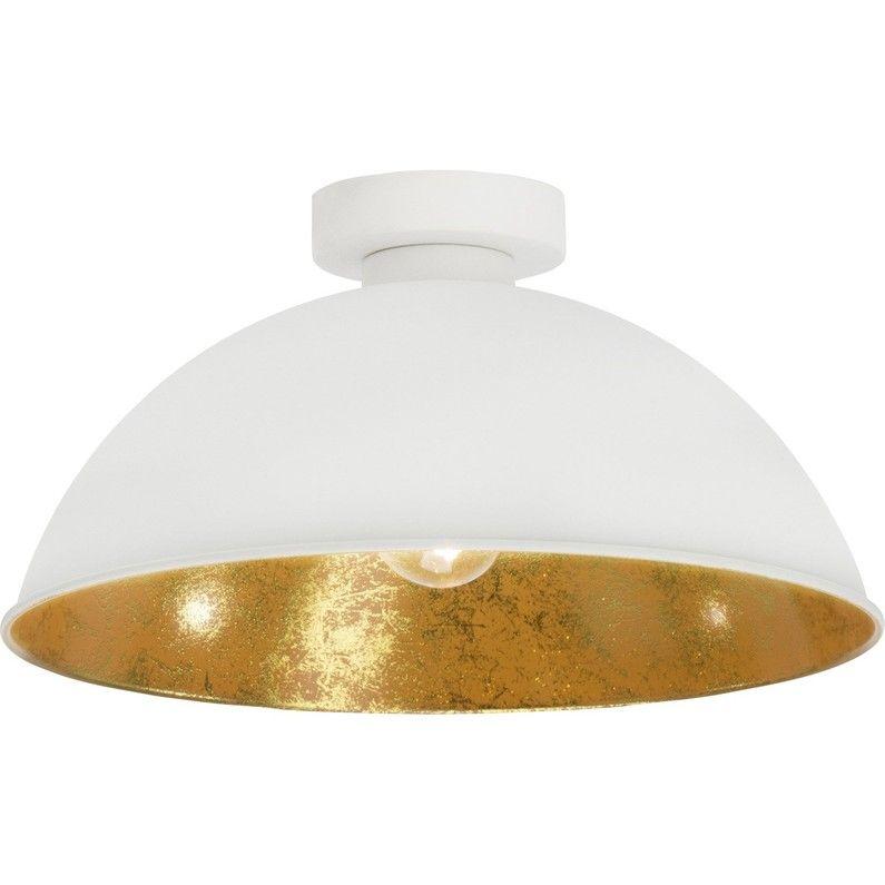 Plafonnier Design E27 Aztekas Metal Blanc 1 X 40 W Brilliant Avec Images Plafonnier Design Luminaire Plafond Plafonnier