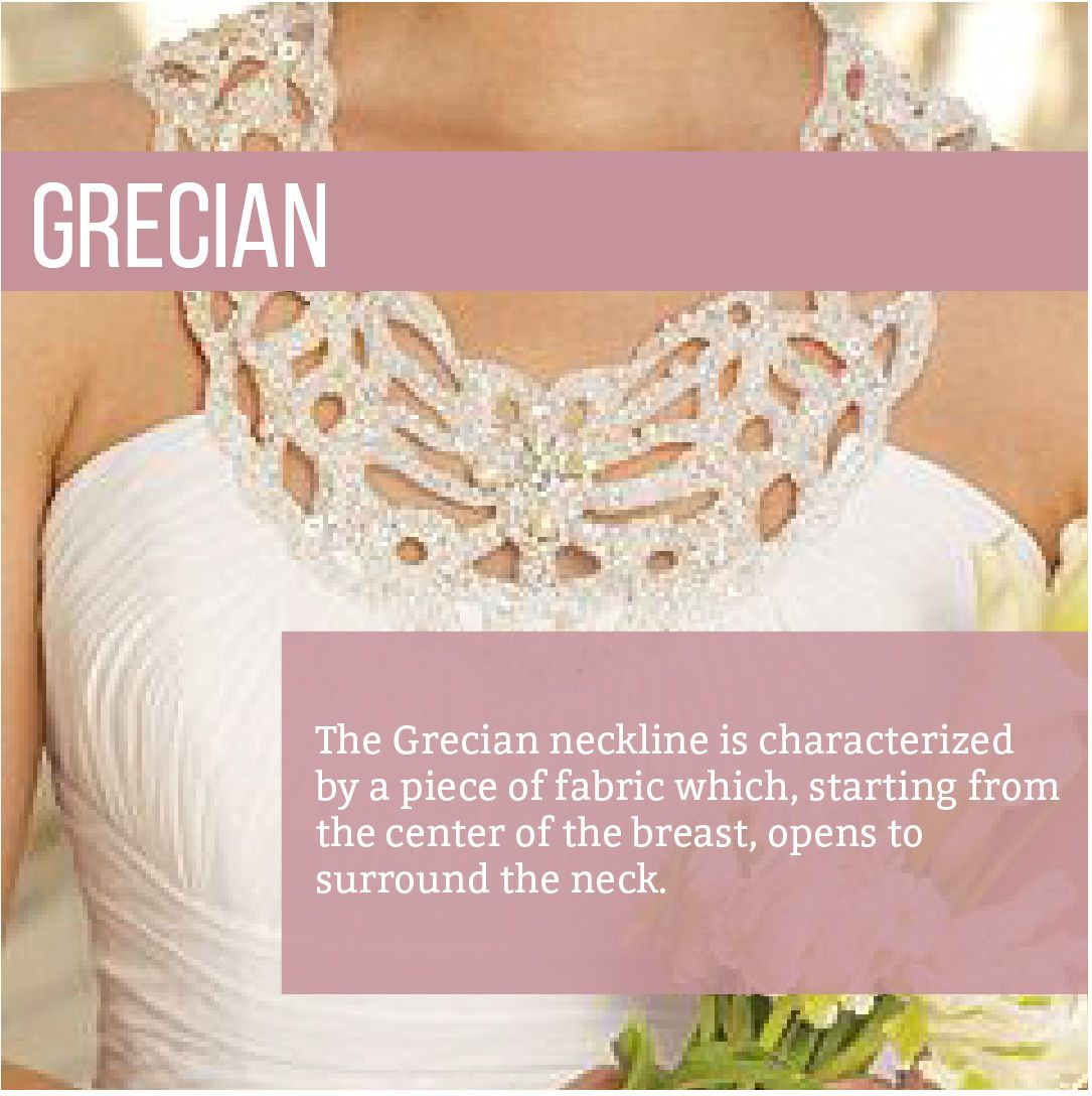 More than you could ever hope to know about necklines and designing your own custom wedding gown
