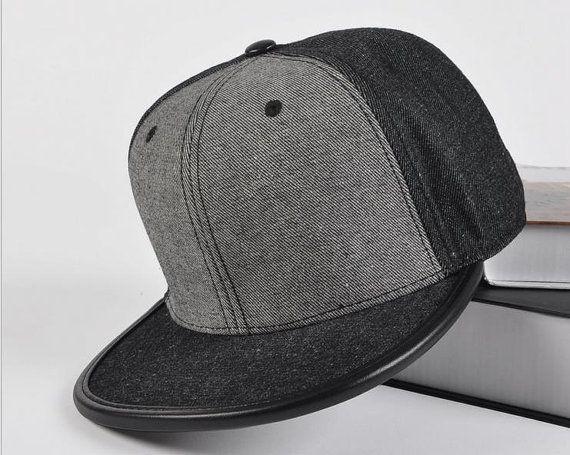 Denim Jeans patchwork blank Snapback Hat flat brim by Bestown ... d4fe54023f9