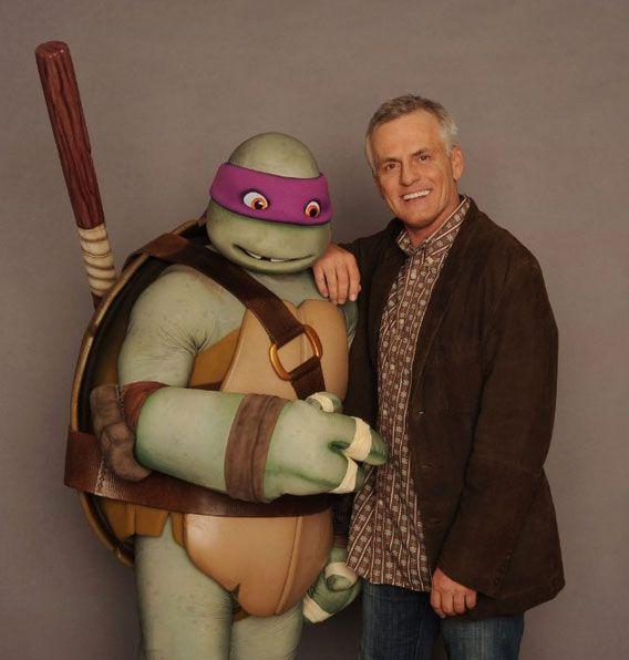 Rob Paulsen Voice Of Donatello In Teenage Mutant Ninja Turtles 2012 Photo By Frank Micelotta C 2012 Viacom I Tmnt Teenage Mutant Ninja Turtles Tmnt 2012