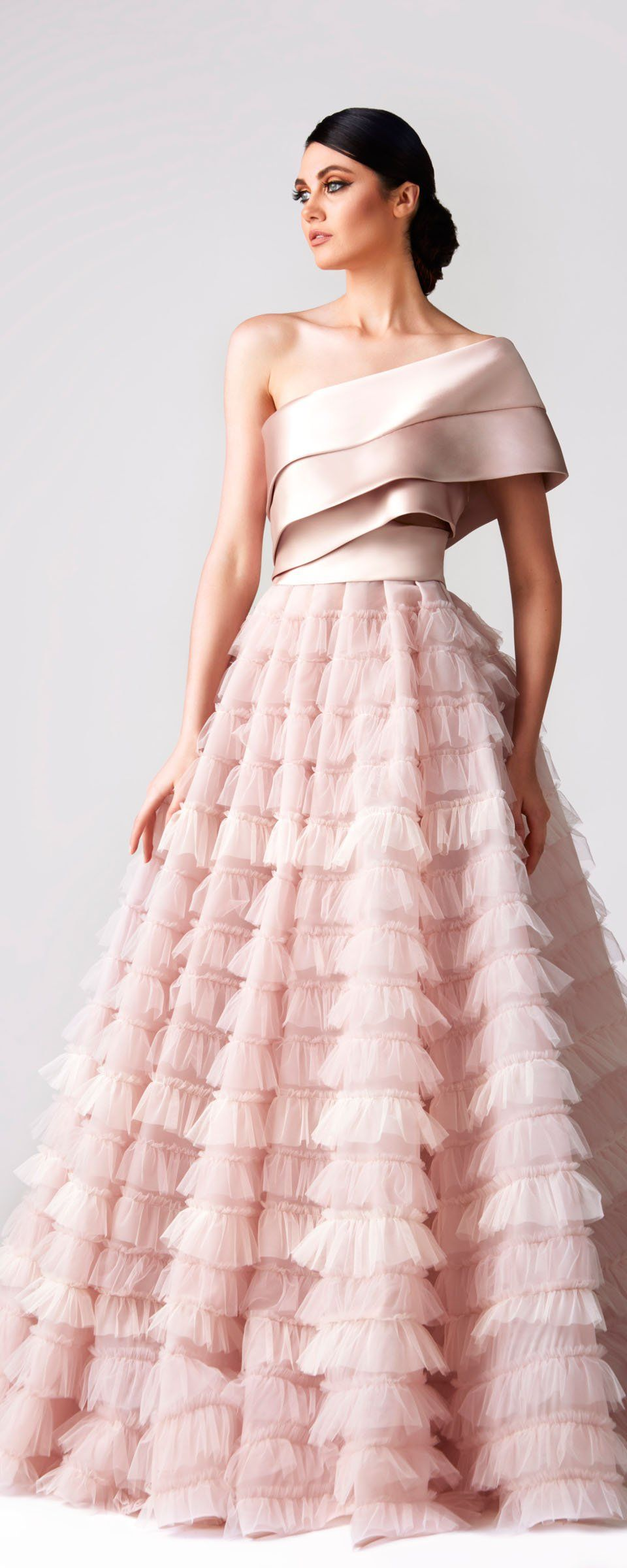 Formal pink dresses for women  Fadwa Baalbaki Springsummer   Couture  Outfit Inspirations
