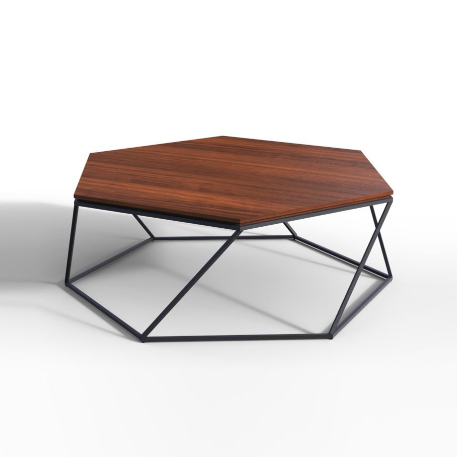TULIP WOOD is a minimalist coffee table with an intriguing ...