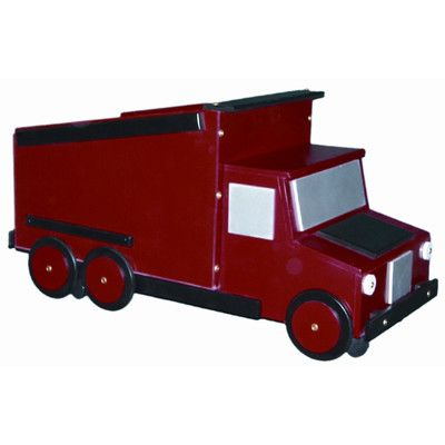 Zoomie Kids Urrutia Dump Truck Toy Box Toy Boxes Kids