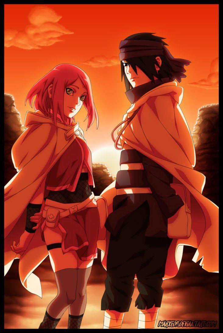SasuSaku - Naruto by MarxeDP   anime   Pinterest   Lo amo, Sube y ...