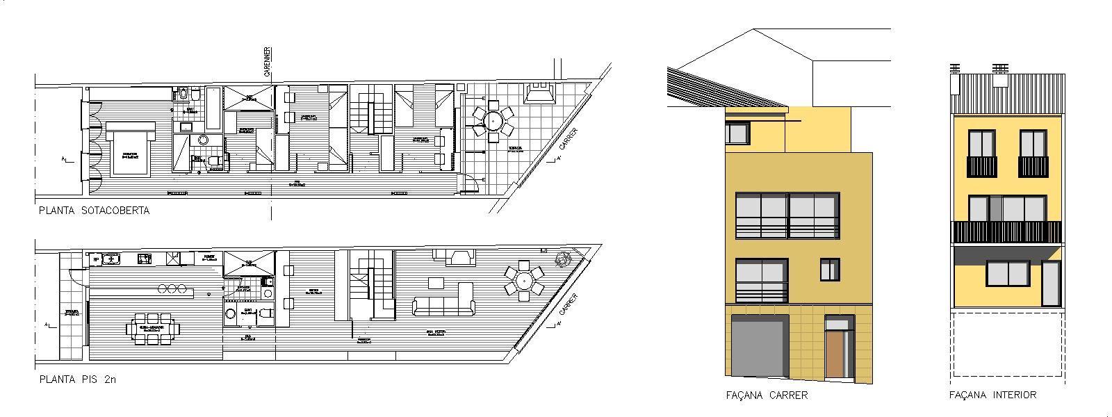 Estudio de arquitectura emeARQ: Reforma de vivienda entre medianeras