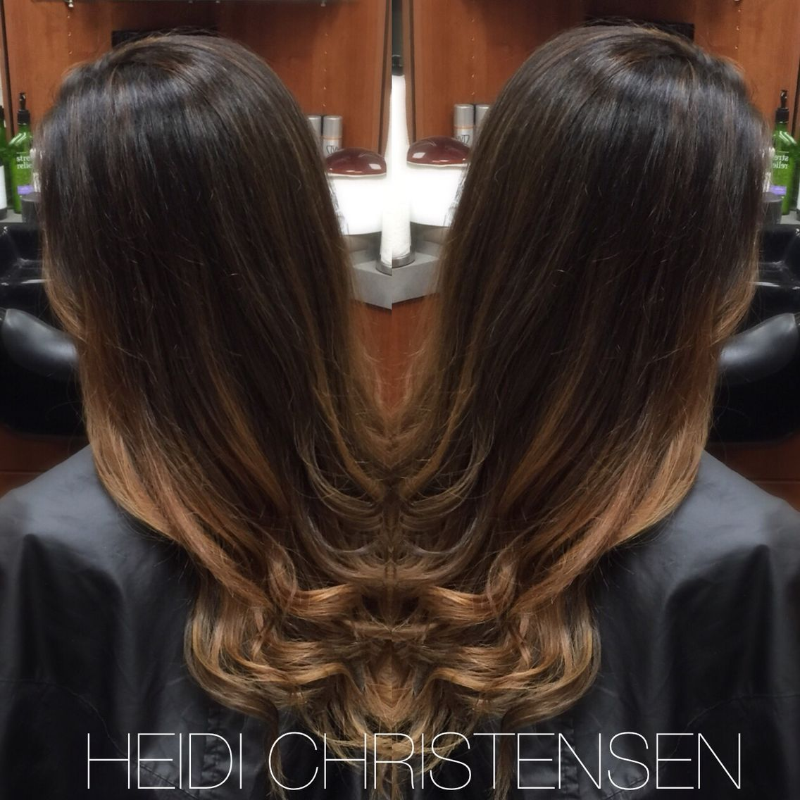 Warm Balayage Ombre The Perfect Color Melt Great For Fall Hair