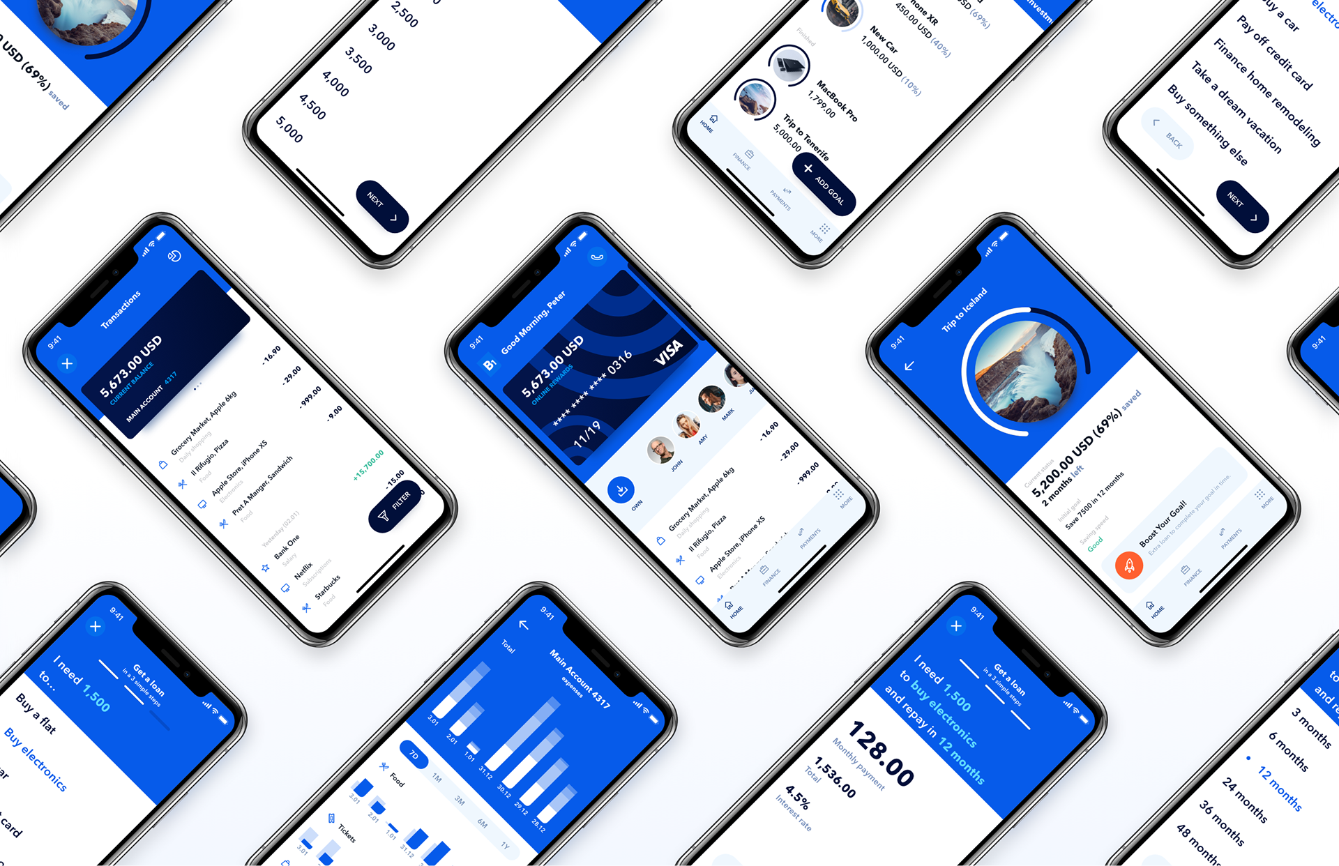 B1 Mobile Bank App UX on Behance (With images) Banking