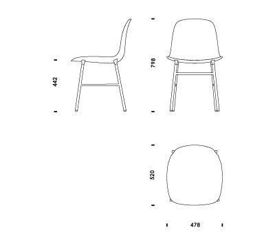 Autocad chair in plan google search pinterest for Sessel 3d dwg