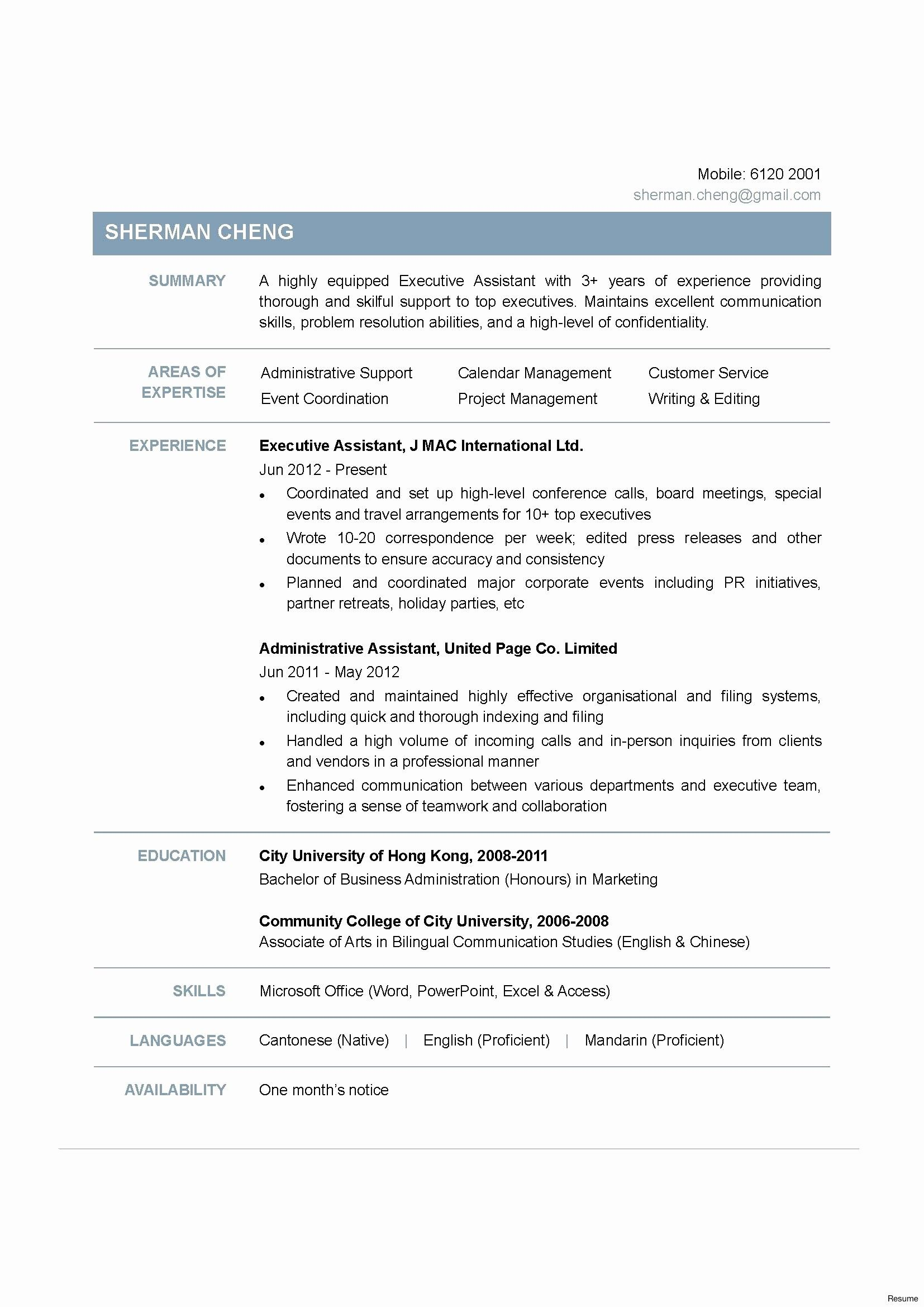 Resume Format For Zoology Lecturer Resume Templates Resume Examples Job Resume Examples Functional Resume Template