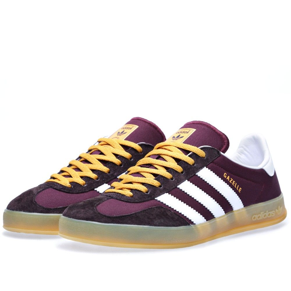 Adidas Gazelle Indoor Light Maroon & Running White
