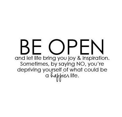 Be Open 3 Citacoes