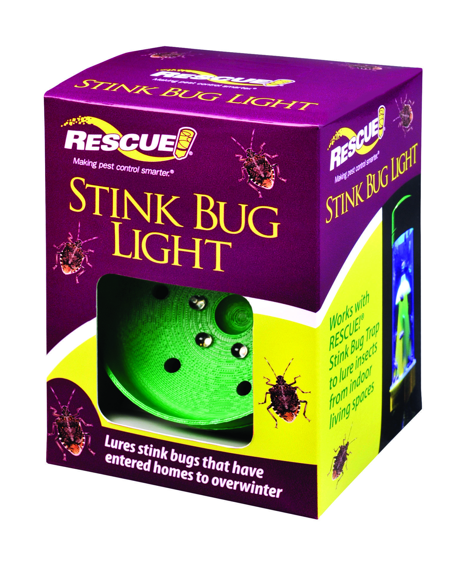 RESCUE STINK BUG TRAP LIGHT Stink bug trap, Bug trap