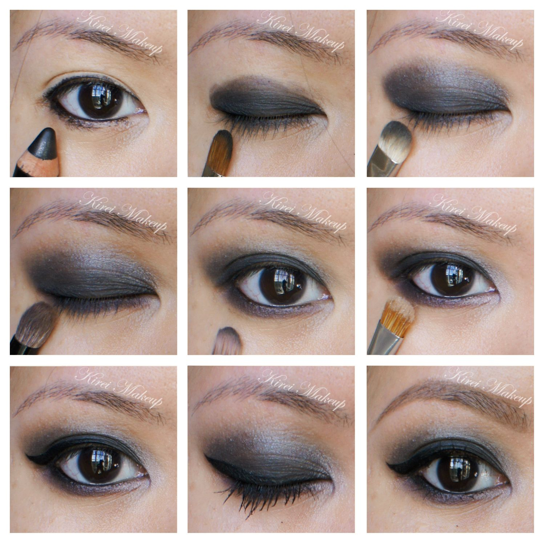 Smokey Eyes using NARSissist Eyeshadow Palette Smoky eye