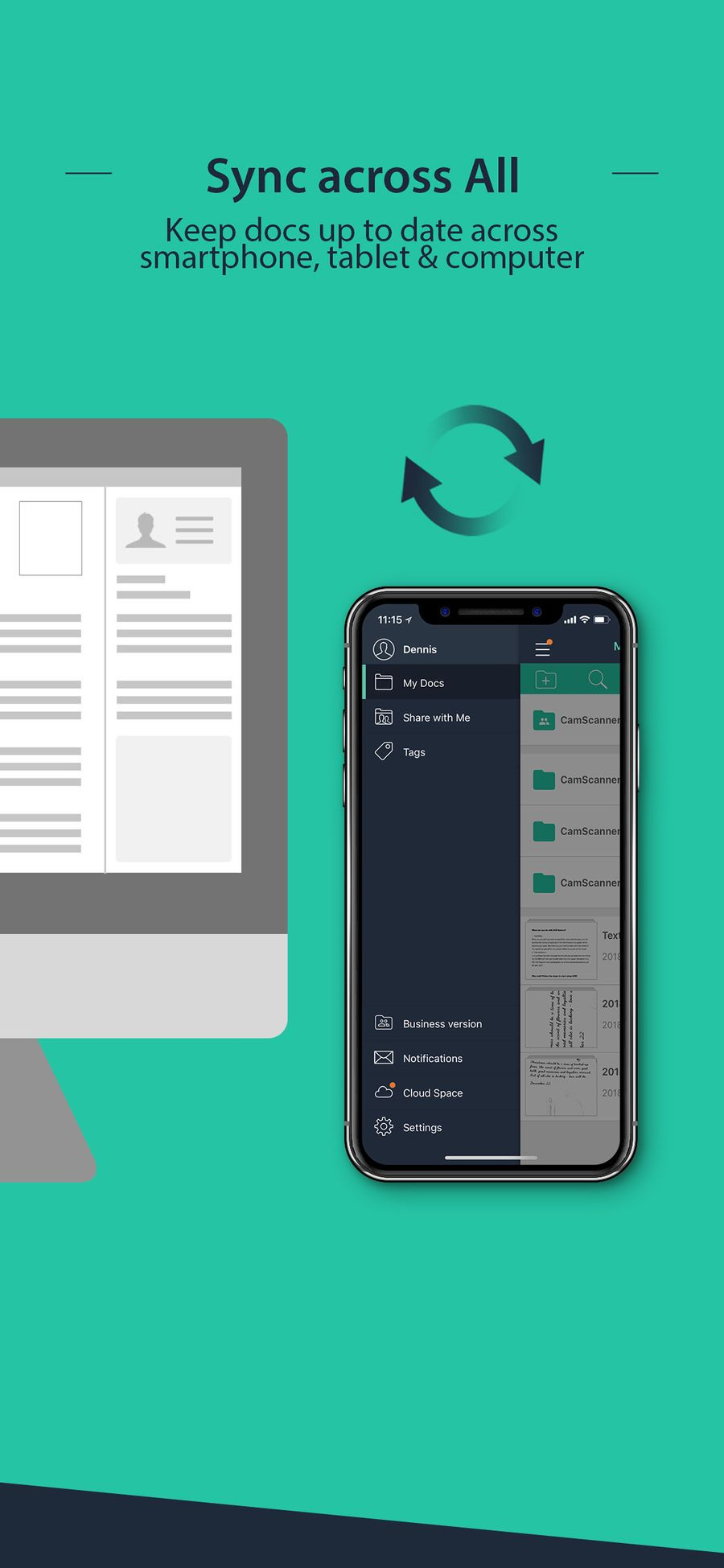 CamScanner Document Scanner BusinessProductivityapps