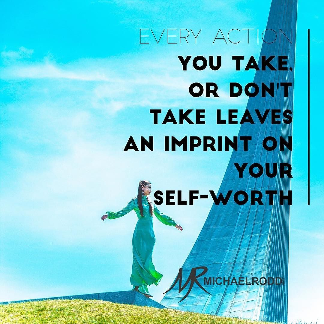 The best way to build your self-belief and destroy doubt is to keep taking the actions that move you forward.