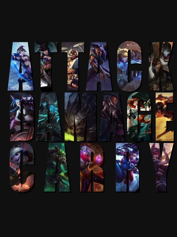 ADC - League of Legends by harada1987