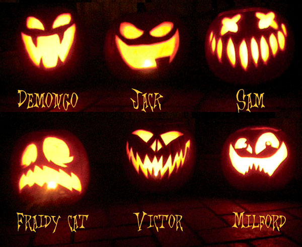 60+ Best Cool, Creative & Scary Halloween Pumpkin Carving Ideas 2014 #pumkincarvingdesigns