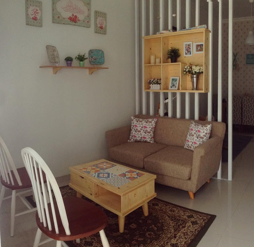 Ruang Tamu Kecil Bera Klasik Vintage
