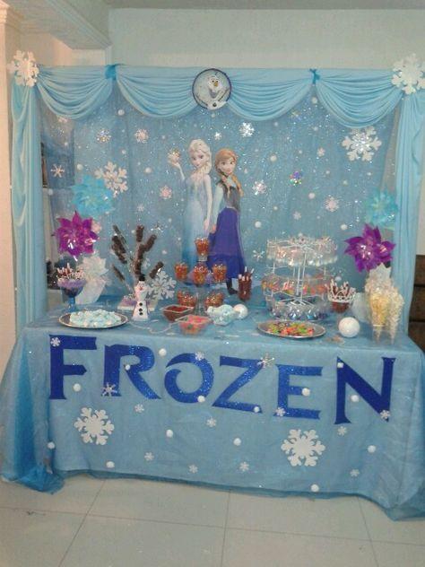 56 Trendy Ideas For Birthday Themes Decoration Frozen Party Frozen Themed Birthday Party Disney Frozen Birthday Party Frozen Birthday Party Decorations