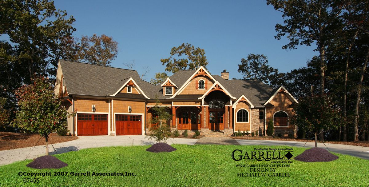 Garrell Associates Inc Amicalola Bungalow Ii Plan 07455