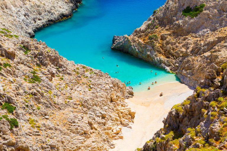 Kreta Strande Top 10 Traumstrande Karte Bilder Kreta
