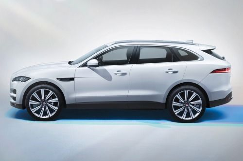 2017 Jaguar F Pace 20d Prestige 4dr Suv Exterior Options Shown