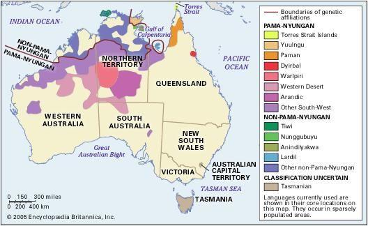 Going Down Swinging On Word Check - Australian language map
