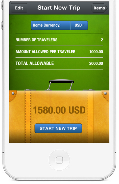 simply declare for ios keep track of your travel expenses cool