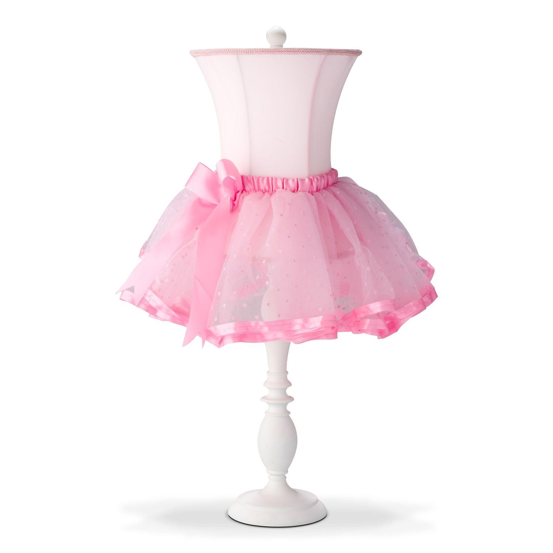 ballerina tutu table lamp | value city furniture | baby girl