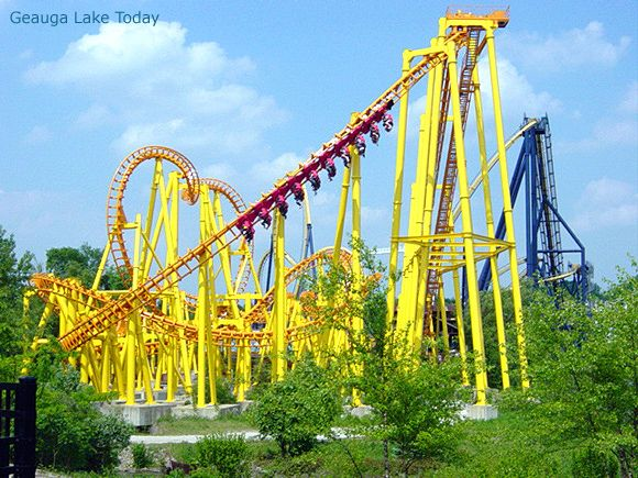 Thunderhawk at Gauga Lake - now at Michigan's Adventures