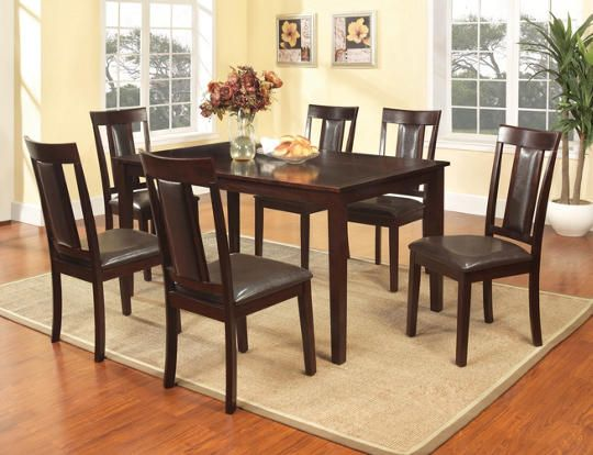60 Dining Table 6 Chairs
