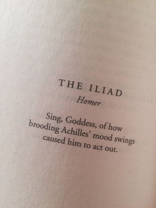 Homer S Iliad Tumblr Homer Iliad The Secret History Achilles