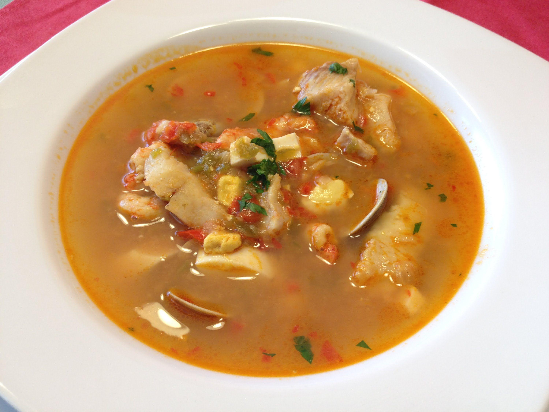 Sopa De Pescado Receta De Navidad Fideos Sopa Y Fideua Sopa