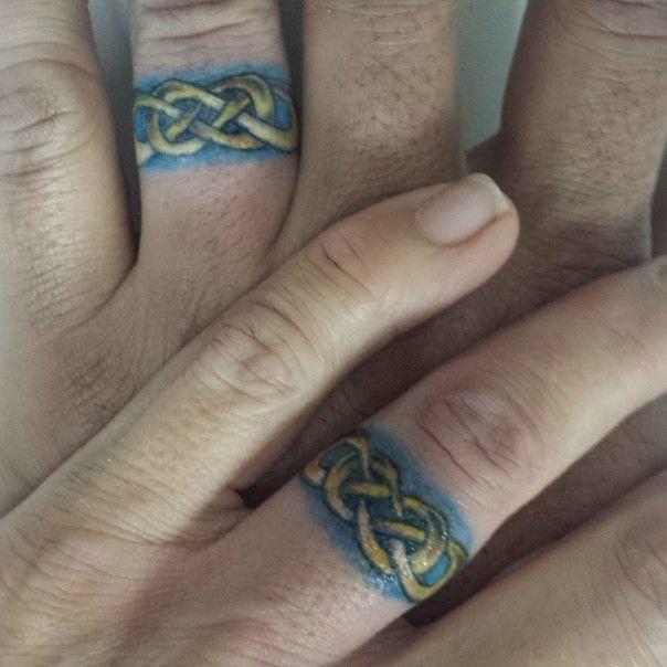 Wedding Ring Tattoos For Men Love Tattoos For Men Pinterest