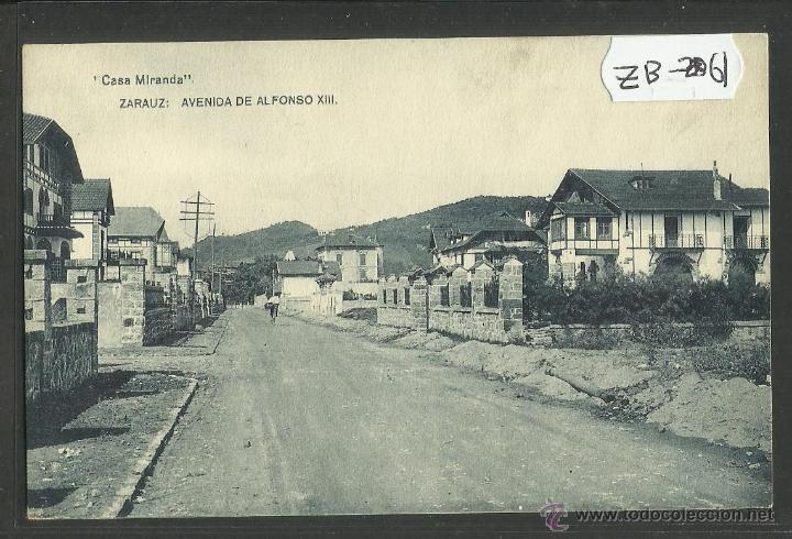 Zarauz zarautz avenida de alfonso xiii casa miranda - Apartamentos sobre el mar zarautz ...
