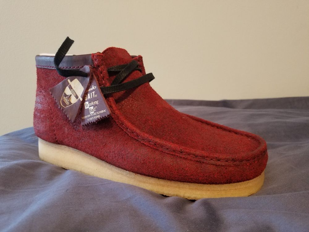 46871ab4918 Breaking Bad x Clarks Men Wallabee Boot - Felina Size 10 BRAND NEW ...