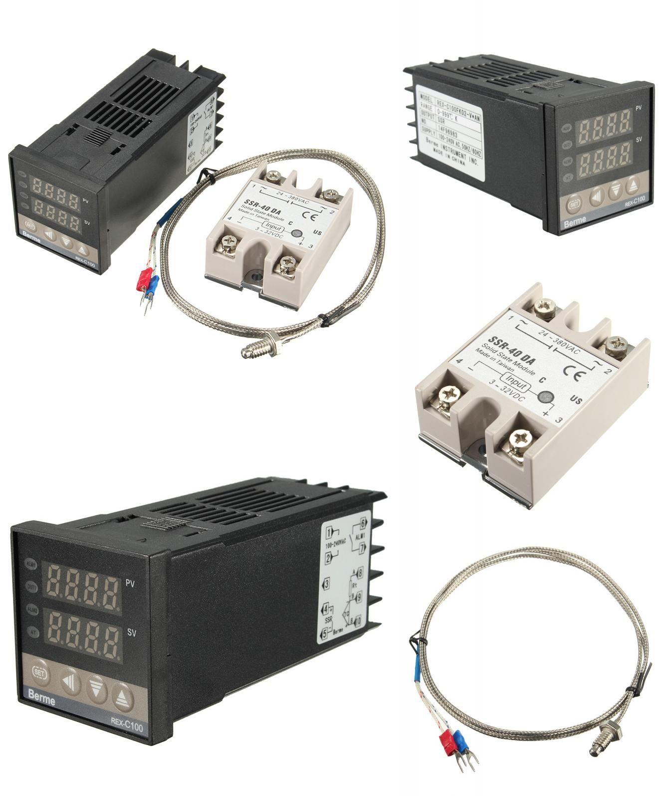Visit to Buy] Digital 110-240V PID REX-C100FK02-V*AN DA