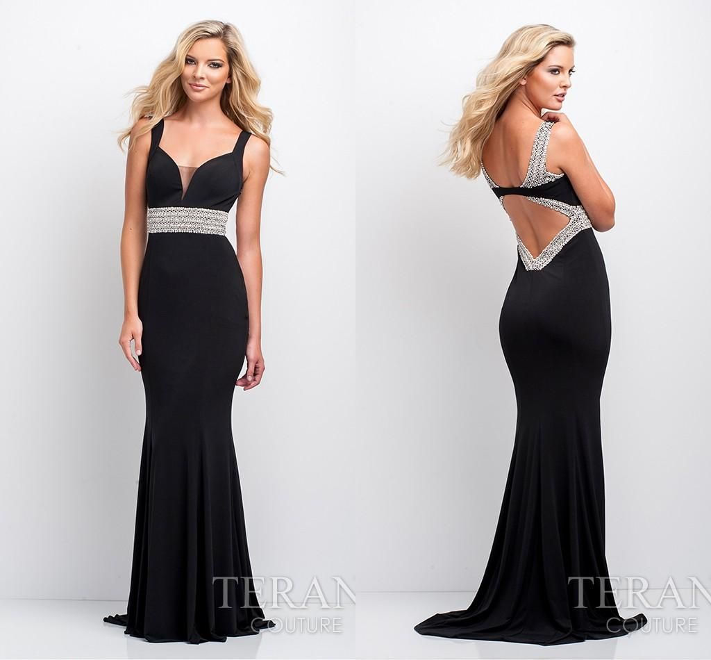 Prom Dress Boutiques Colors Custom Made Mermaid Prom Dresses Unique Backless With Crystal Beaded Sexy V Neckline Floor Length Chiffon Cocktail Dresses 2015 Ah07 Prom Dresse From Engerlaa, $127.54| Dhgate.Com