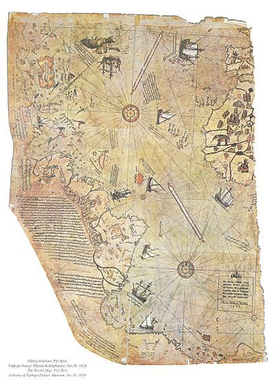 From wikiwand surviving fragment of the first world map of piri from wikiwand surviving fragment of the first world map of piri reis 1513 showing parts of the americas gumiabroncs Gallery