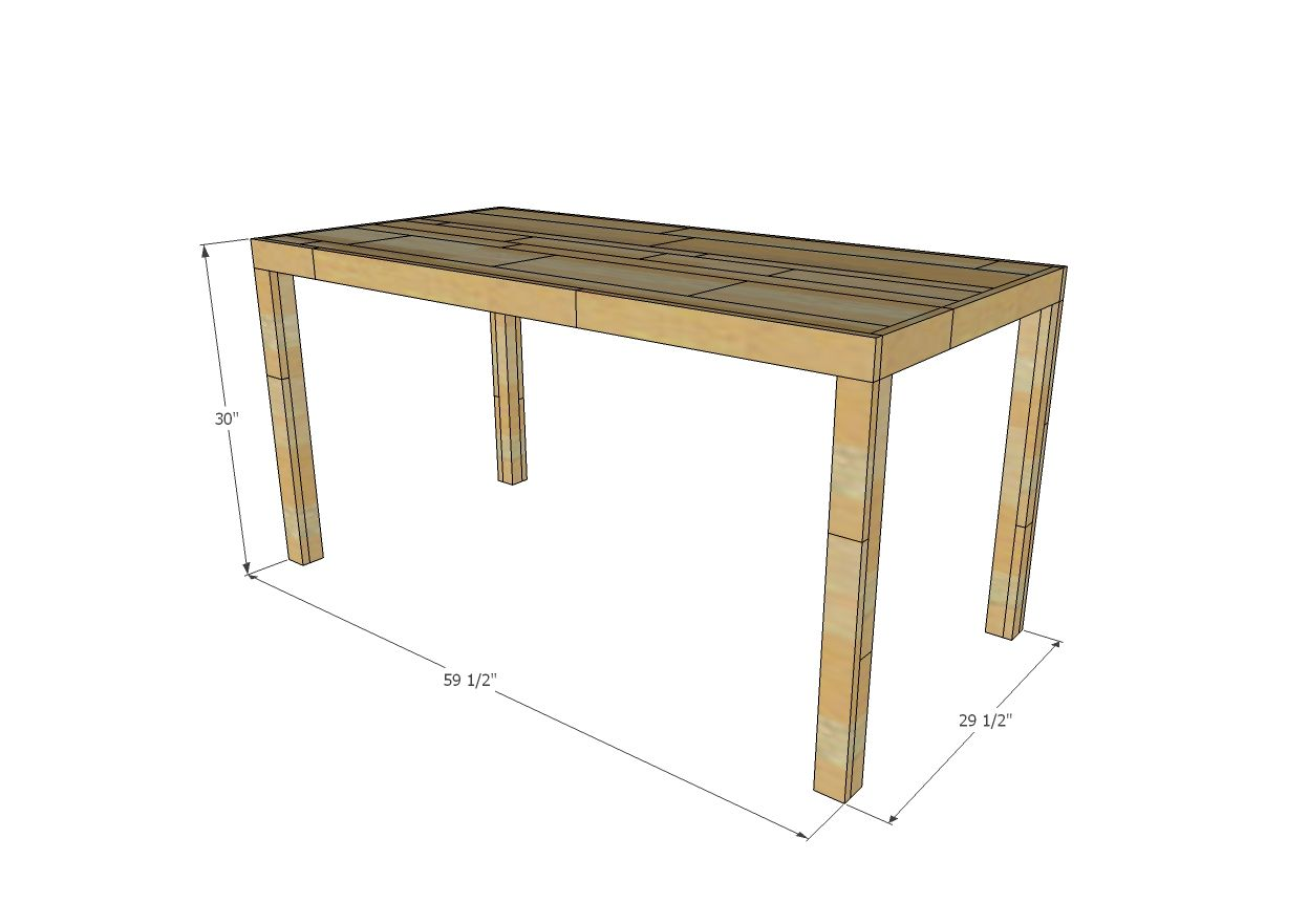 Emmerson Parsons Table Modern Reclaimed Wood Dining Table Reclaimed Wood Dining Table Wood Dining Table Diy Parsons Table