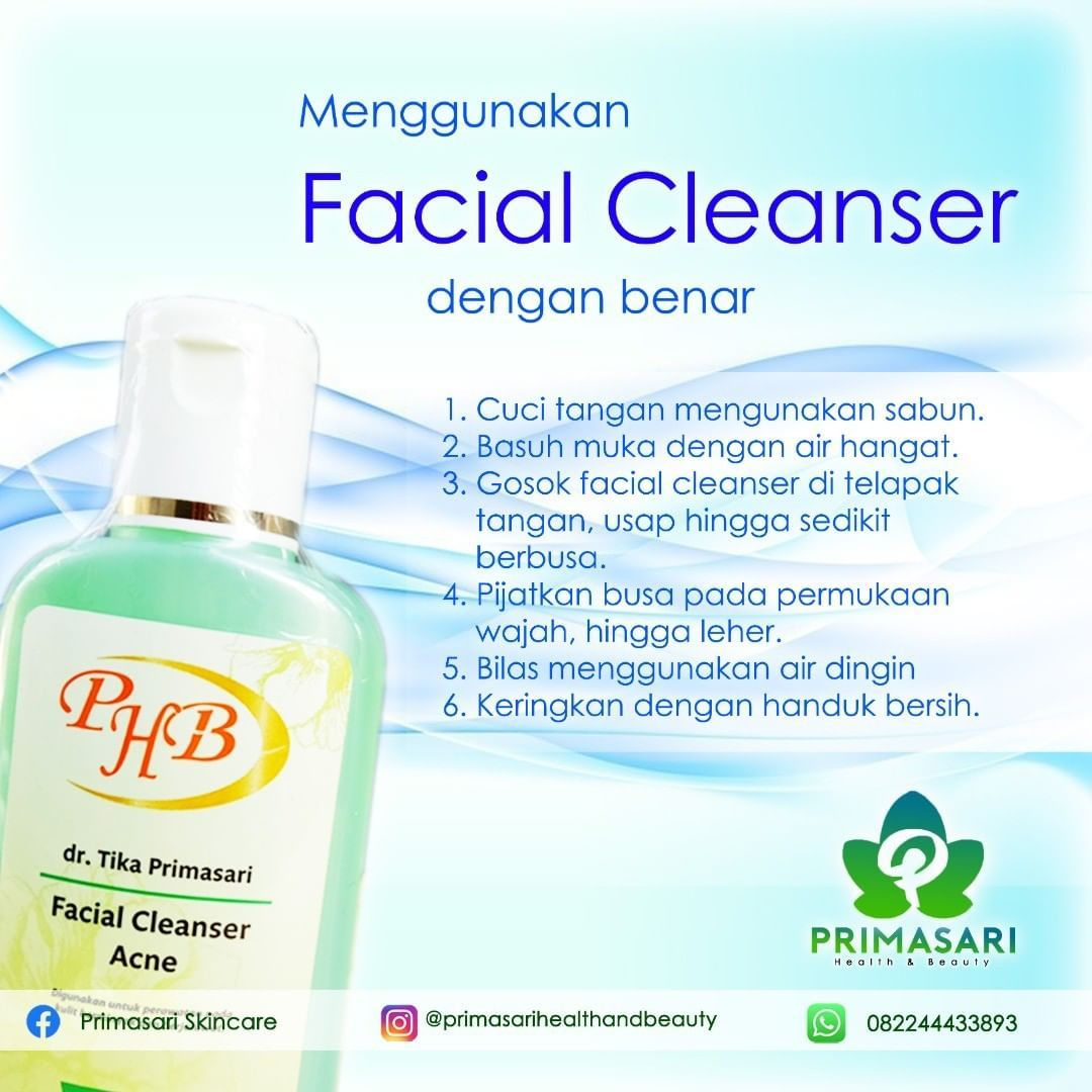 Dalam memakai facial wash, ada beberapa hal yang perlu